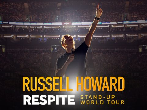 RUSSELL HOWARD ANNOUNCES RESCHEDULED DATES IN NORTH AMERICA AND EUROPE FOR WORLD TOUR, RESPITE