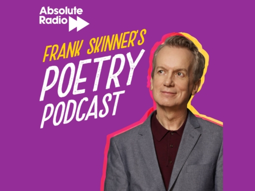 FRANK SKINNER TO LAUNCH BRAND NEW PODCAST –  'FRANK SKINNER'S POETRY PODCAST' ON MONDAY 20TH APRIL